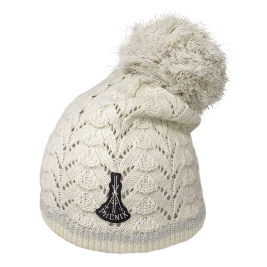 Phenix Knit Hat - White