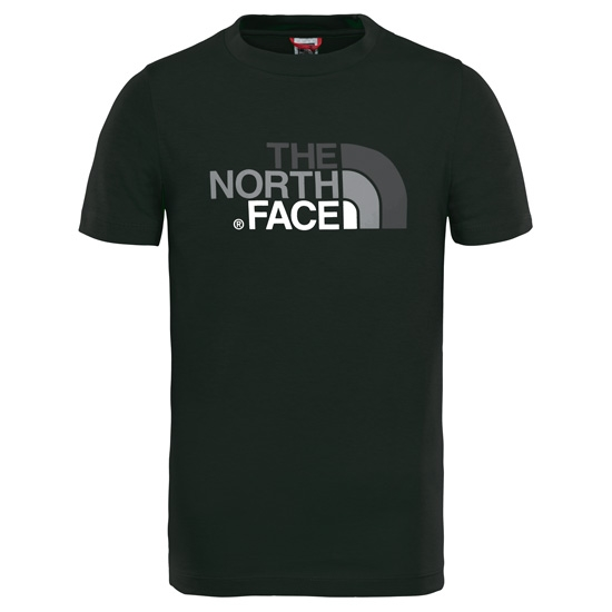 The North Face S/S Easy Tee Y - Black