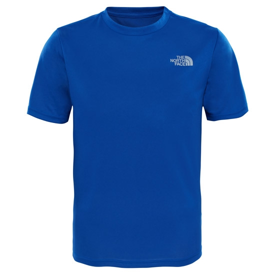 The North Face Reaxion Tee S/S Jr - Bright Cobalt Blue Heather