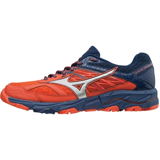 Mizuno Wave Mujin 5 - Cherry Tomato / Silver / Estate Blue