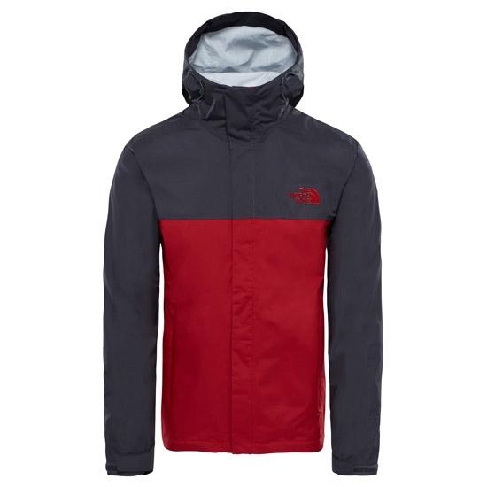 The North Face Venture 2 Jacket - Cardinal Red/Asphalt Grey