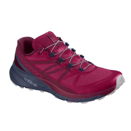 Salomon Sense Ride W - Cerise/Navy Blue