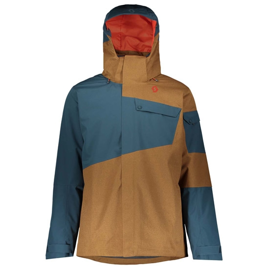 Scott Ultimate Dryo 30 Jacket - Nightfall Blue/Tobacco Brown Oxford