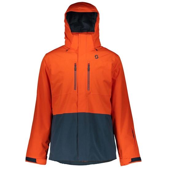 Scott Ultimate Dryo 40 Jacket - Tangerine Orange/Nightfall Blue
