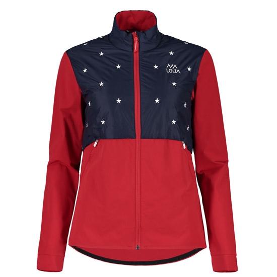 Maloja Seliam Jacket W - Red Poppy