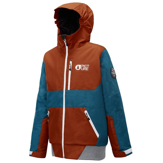 Picture Slope Jacket - A Brick