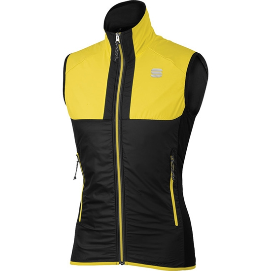 Sportful Cardio Wind Vest - Yellow Fluo/Black