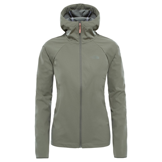 The North Face Inlux Softshell Hoodie W - Deep Lichen Green