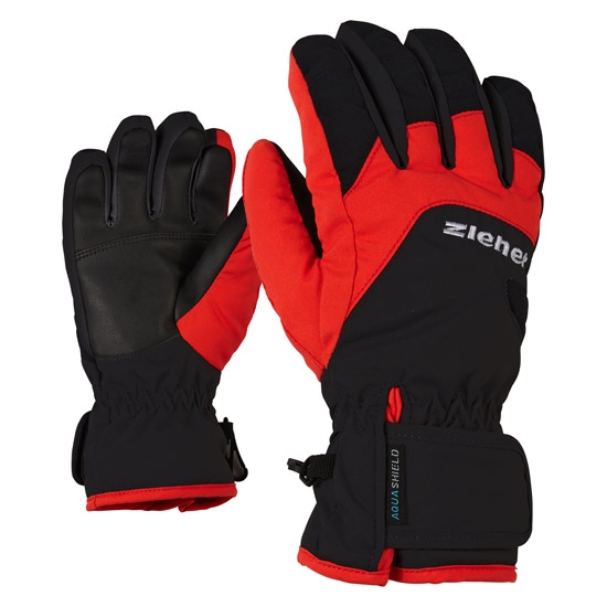 Ziener Lizzard AS Jr - Black/Red