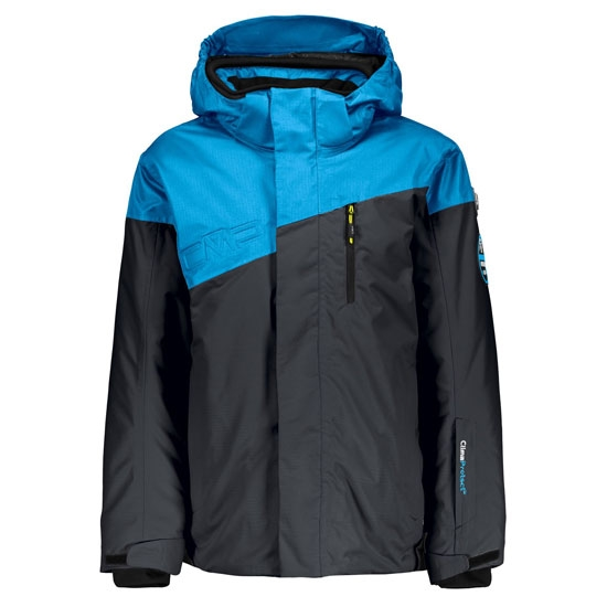 Campagnolo Full Dull Jacket Hood Boy - Antracite