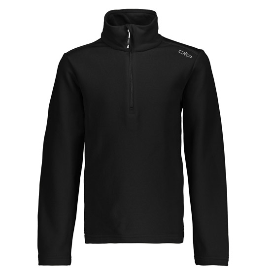 Campagnolo Light Stretch Fleece Sweat Boy - Nero/Bianco