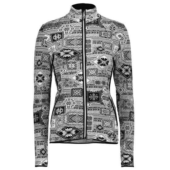 Campagnolo Knitted Printed Jacket W - Nero