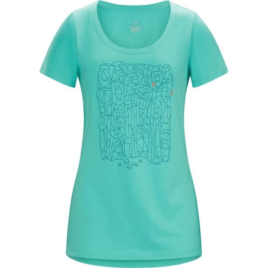 Arc'teryx Block SS T-Shirt W - Halcyon
