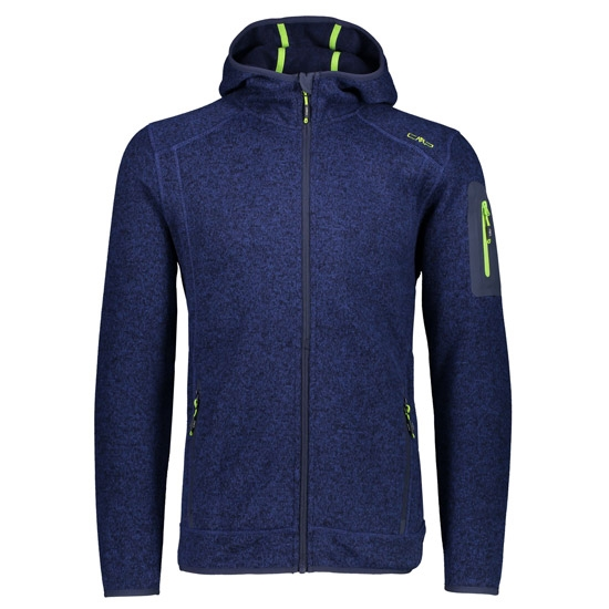 Campagnolo Knitted Fix Hood Jacket - Blue/Inchiostro