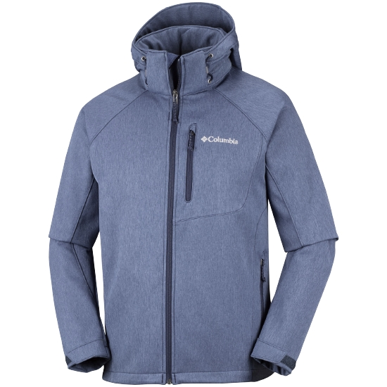 Columbia Cascade Ridge II Softshell - Collegiate Navy Heather