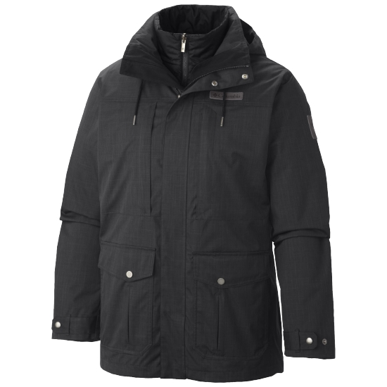 Columbia Horizons Pine Interchange Jacket - Black