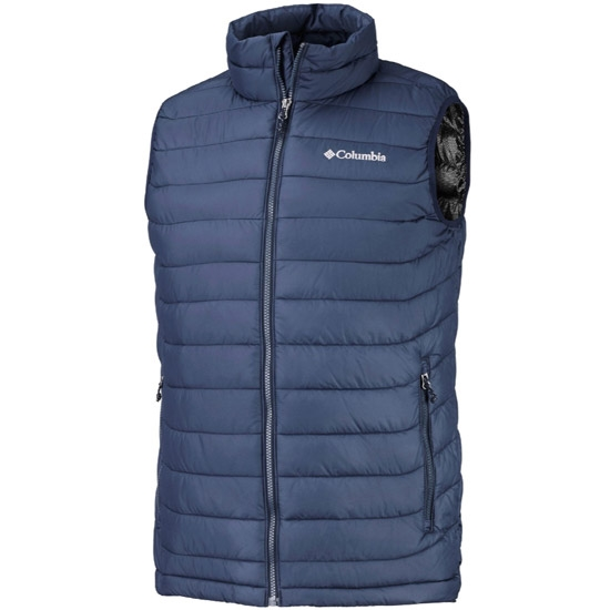 COLUMBIA Powder Lite Vest Coll Coll Vest Navy WO0847 464/ ca63be