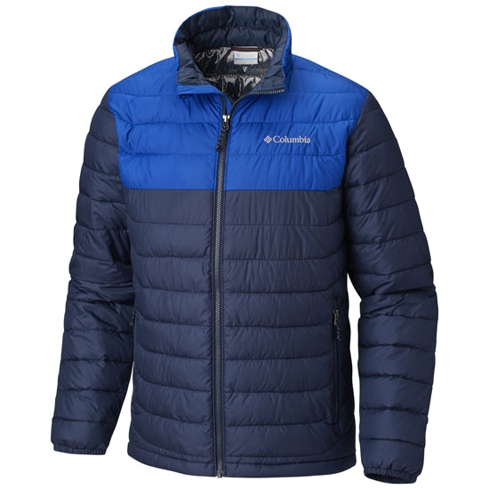 Details about COLUMBIA Powder Lite Jacket Collegiate NavyAzul WO1111 466 Lifestyle