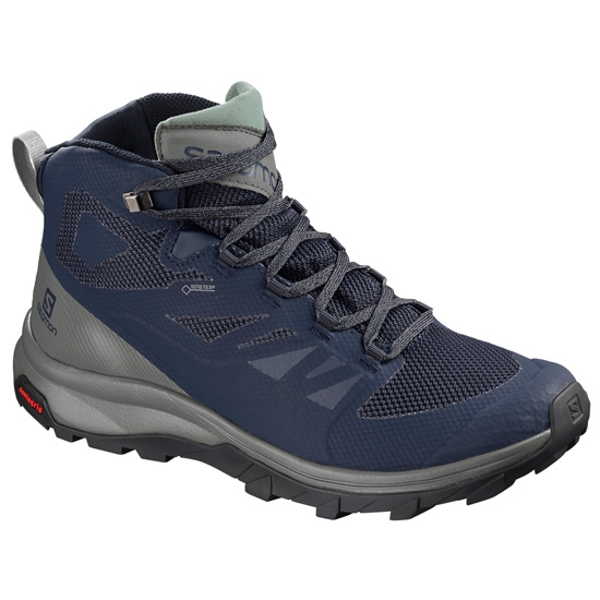 Salomon OuTline Mid GTX - Navy/Blazer
