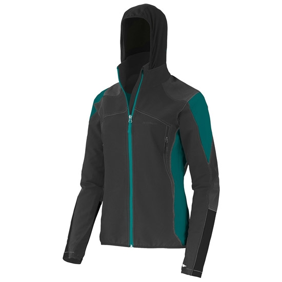 Trangoworld Awear Jacket W - Negro/Azul