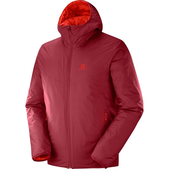 Salomon Drifter Loft Hoodie - Biking Red