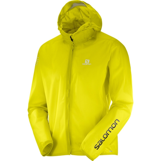 Salomon Bonatti Race WP Jacket - Sulphur Spring