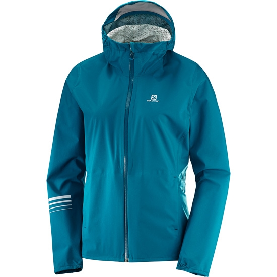 Salomon Lightning WP Jacket W - Deep Lagoon