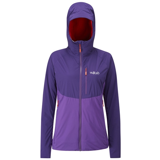 Rab Alpha Direct Jacket W - Nightshade/ Junipe