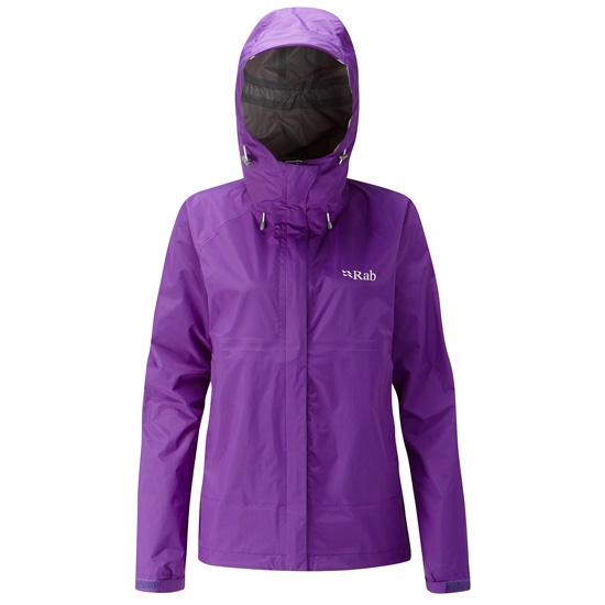 Rab Downpour Jacket W - Nightshade