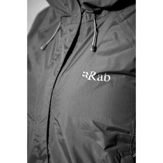 Rab Downpour Jacket W - Detail Foto