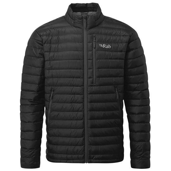 Rab Microlight Jacket - Black/Shark