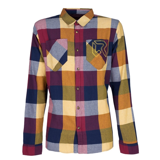 Rock Experience Grizzly Shirt LS - Madras Climbing