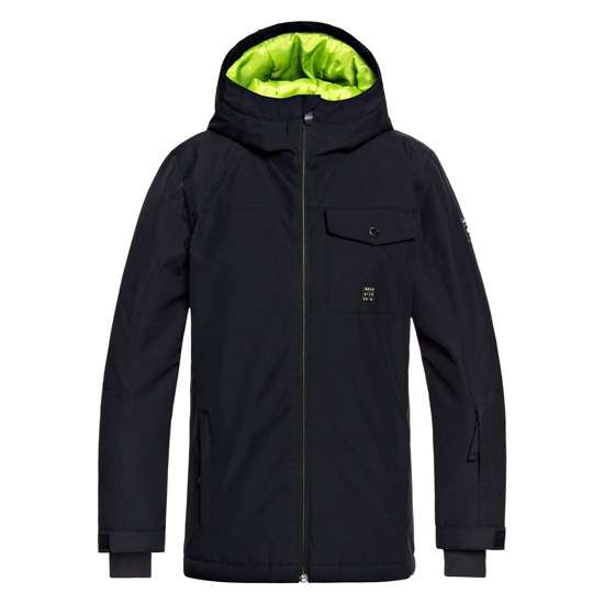 Quiksilver Mission Jacket Youth - Black