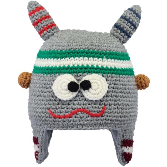 Barts Monster Beanie Kids - Heather grey