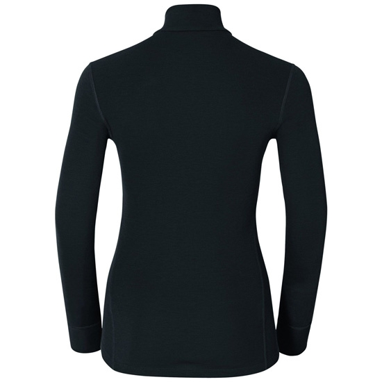 Odlo Warm Shirt LS Neck W - Photo of detail