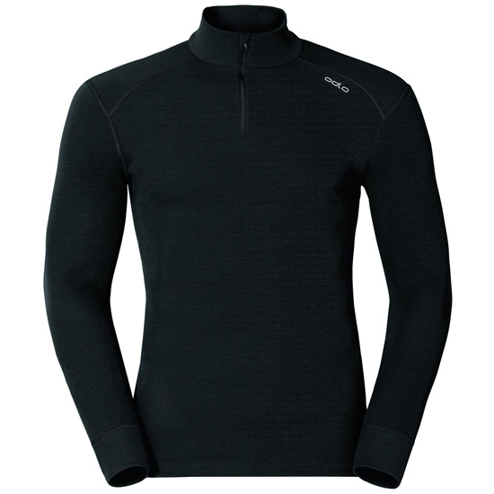 Odlo Warm Shirt LS Neck - Black