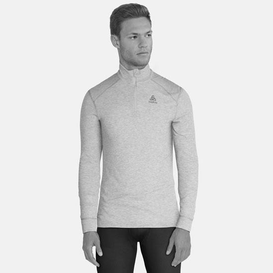Odlo Warm Shirt LS Neck - Photo of detail