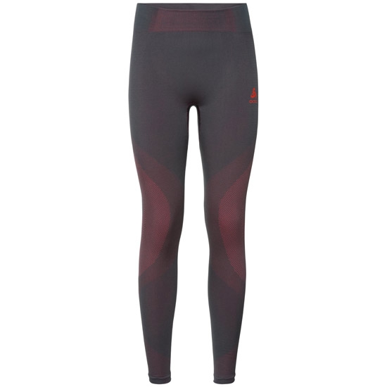 Odlo Suw Performance Tight Warm W - Odyssey Gray /Diva Pink