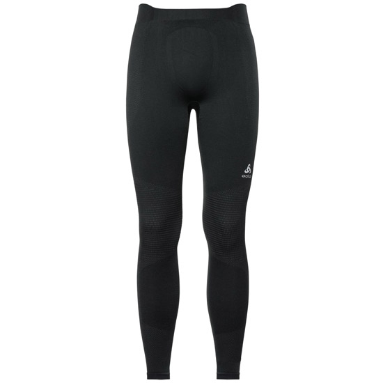 Odlo Suw Performance Tight Warm - Black/Odlo Concrete Grey