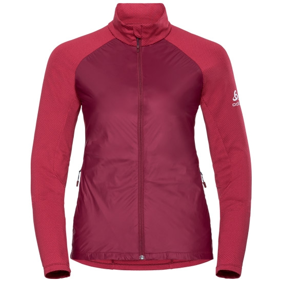 Odlo Velocity Element Light Jacket W - Red/Hibiscus