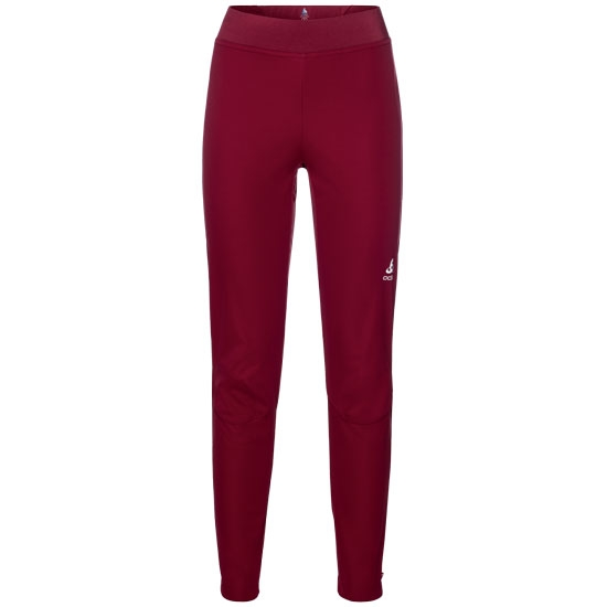 Odlo Aeolus Warm Pants W - Rumba Red