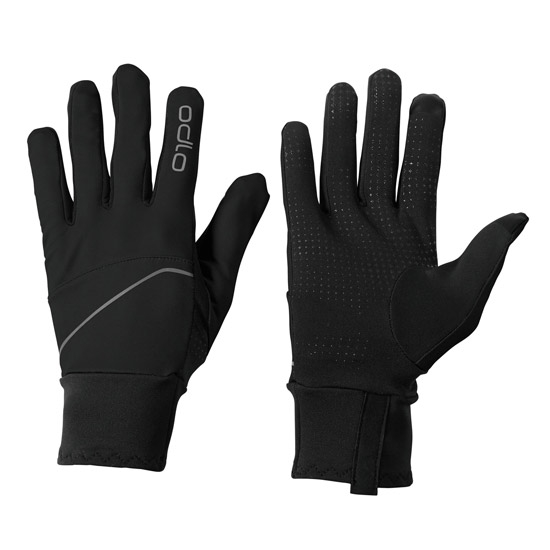 Odlo Intensity Safety Light Gloves - Black