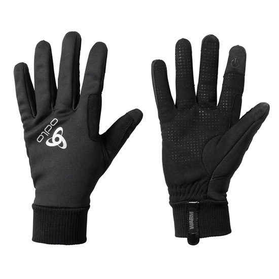 Odlo Windproof Warm Gloves - Black
