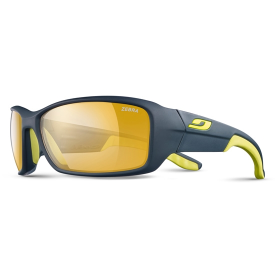 Julbo Run Photochromic 2-4 - Dark Blue/Yellow Zebra