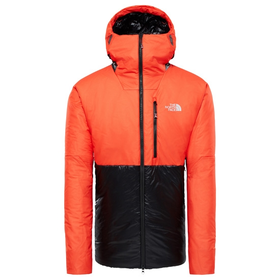 The North Face Summit Summit L6 AW Syntetic Belay Parka - TNF Black/Fiery Red