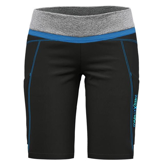 Crazy Exit Short W - Black/Turchese