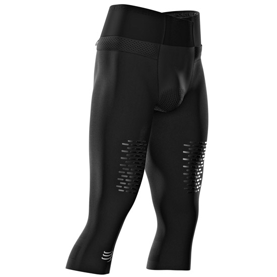 Compressport Trail running Under Control Pirate 3/4 - Black