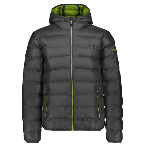 Campagnolo Fix Hood Down Jacket - Antracite/Apple