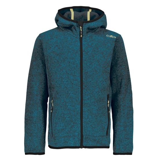 Campagnolo Fix Hood Jacket Boy - Cyano-Asphalt
