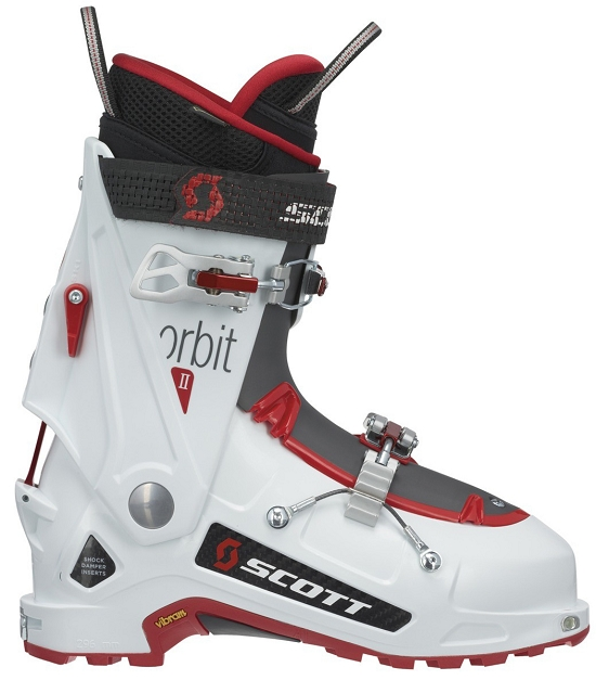 Scott Orbit II - Carbón White/White